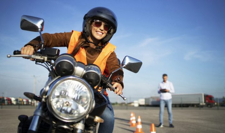 asim Motorcycle driving school.