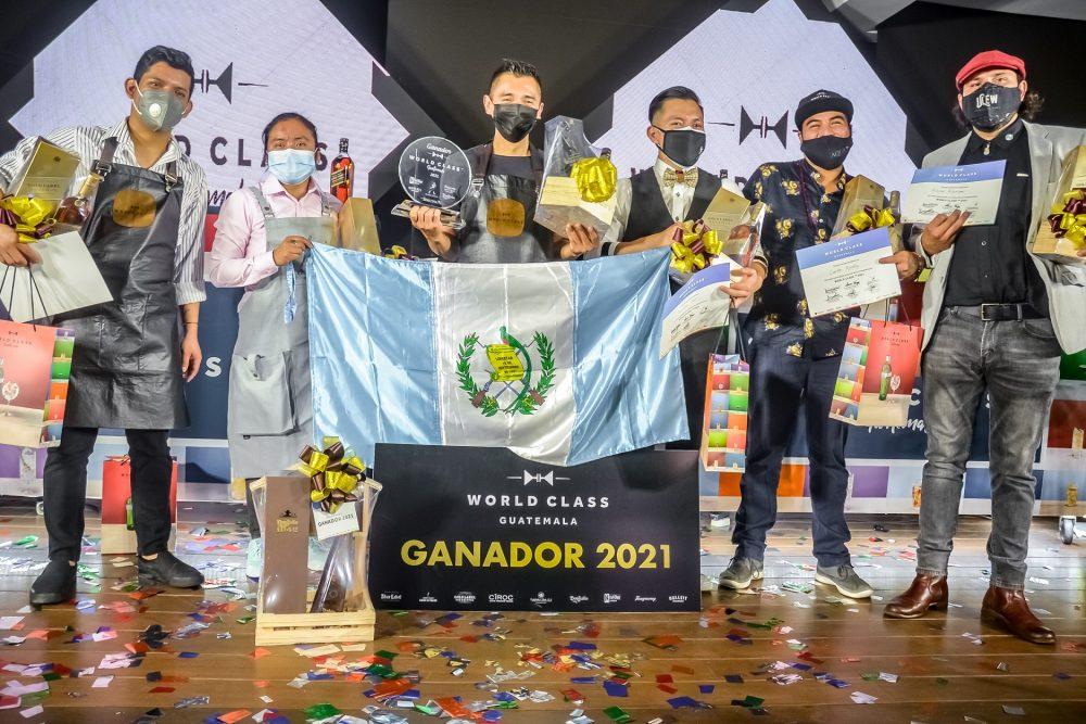 bartender ganador de World Class Guatemala 2021