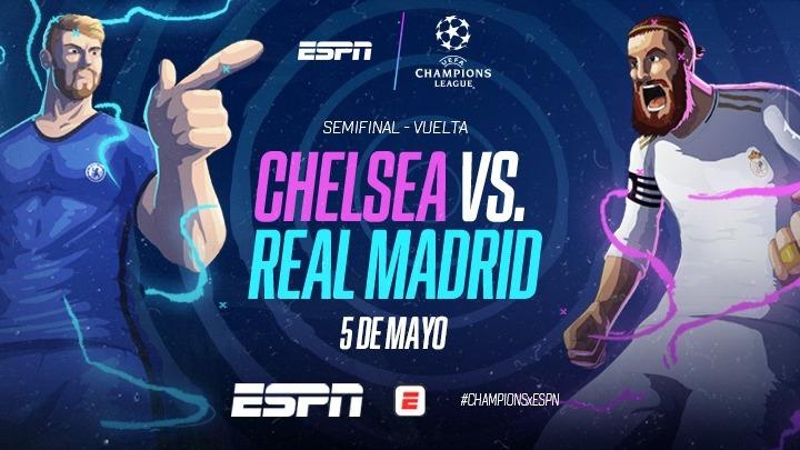 Chelsea vs Real 5-5-21