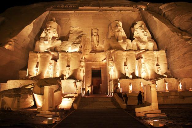 EGIPTO-GRAN TEMPLO ABU SIMBEL Día De Los Museos ASSIST CARD