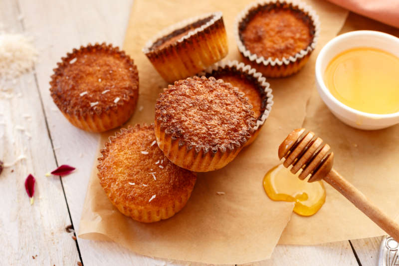 muffin miel KitchenAid