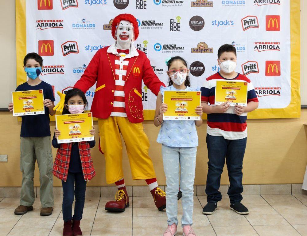 Premiación Certamen de Cuentos McDonald's