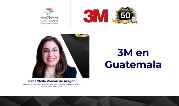 3M 50 años guatemala
