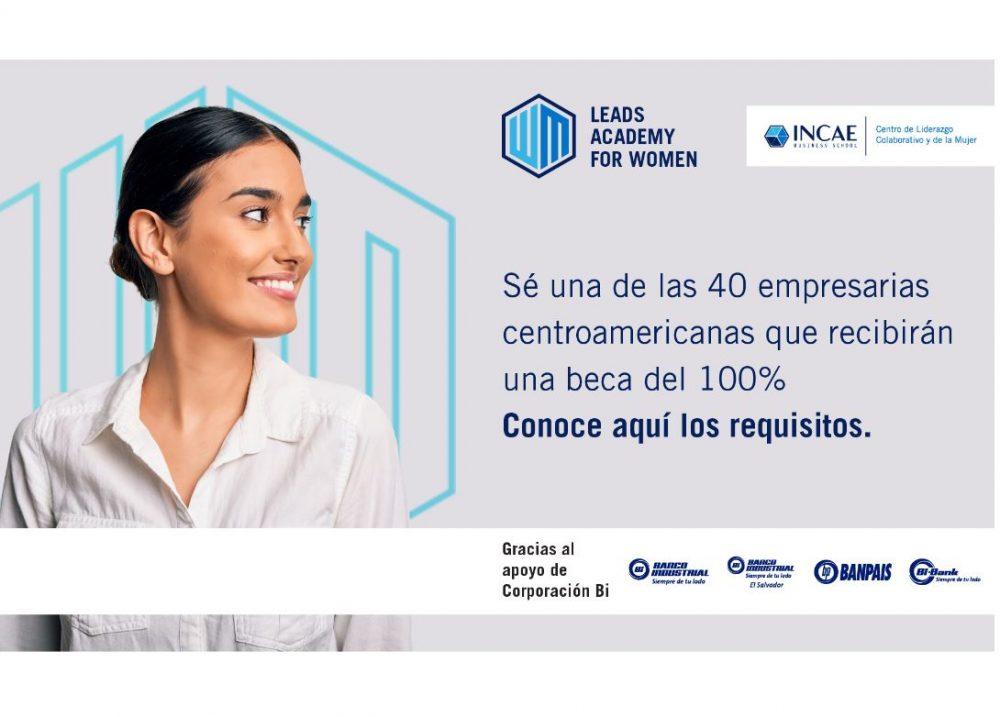 Banco Industrial e INCAE LEADS ACADEMY FOR WOMEN 2021