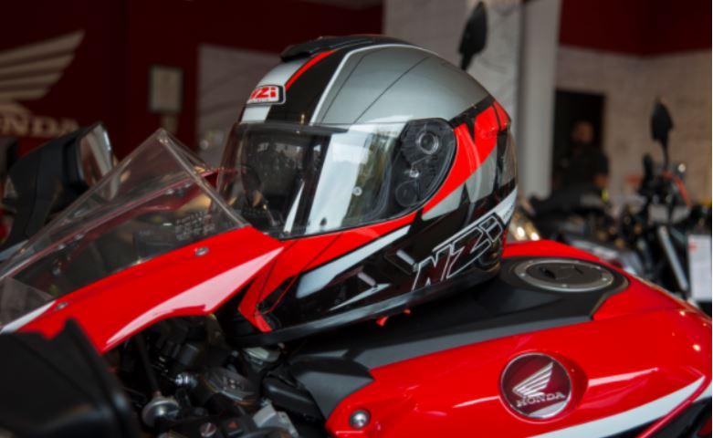 casco moto honda