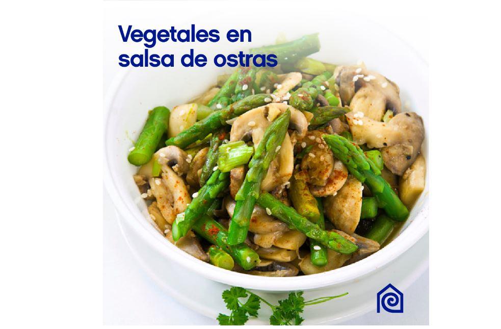 cemaco vegetales con salsa de ostra