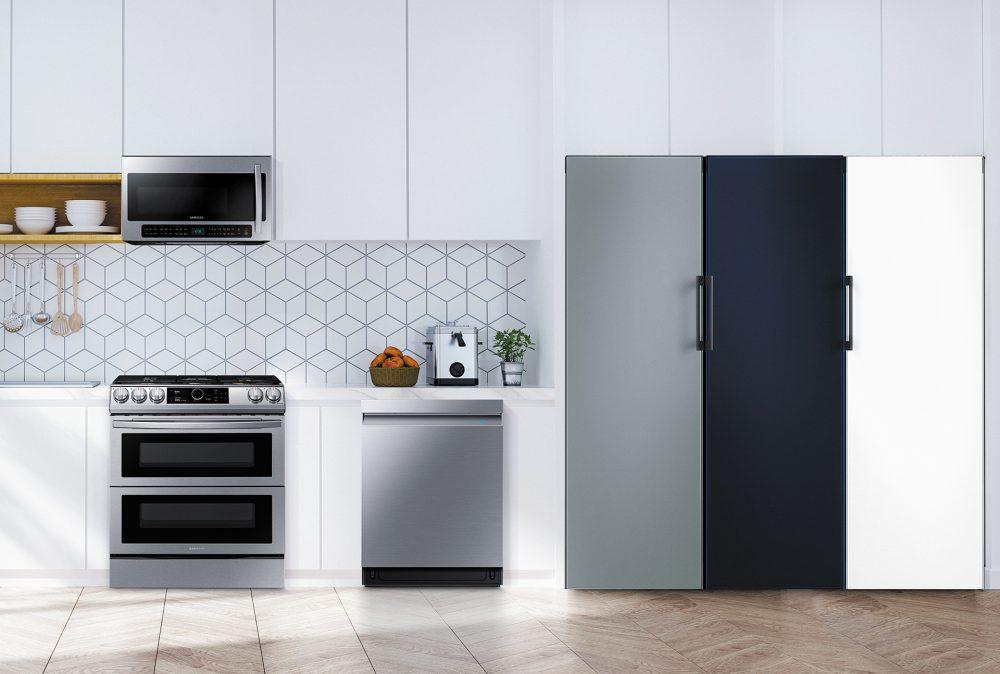 refrigeradora Bespoke de Samsung