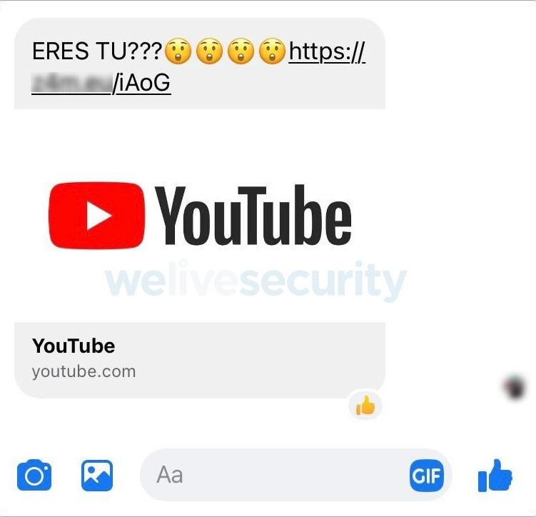 video pishing eset