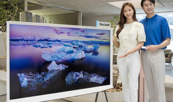 The Serif televisor Samsung