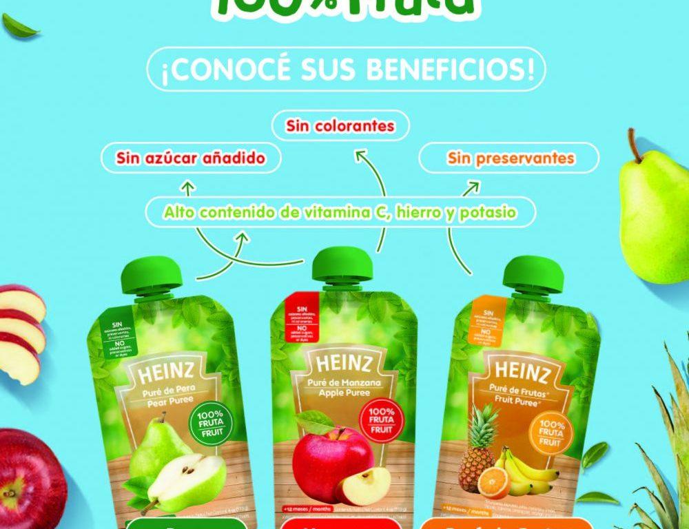 Foto colados Heinz 100% fruta