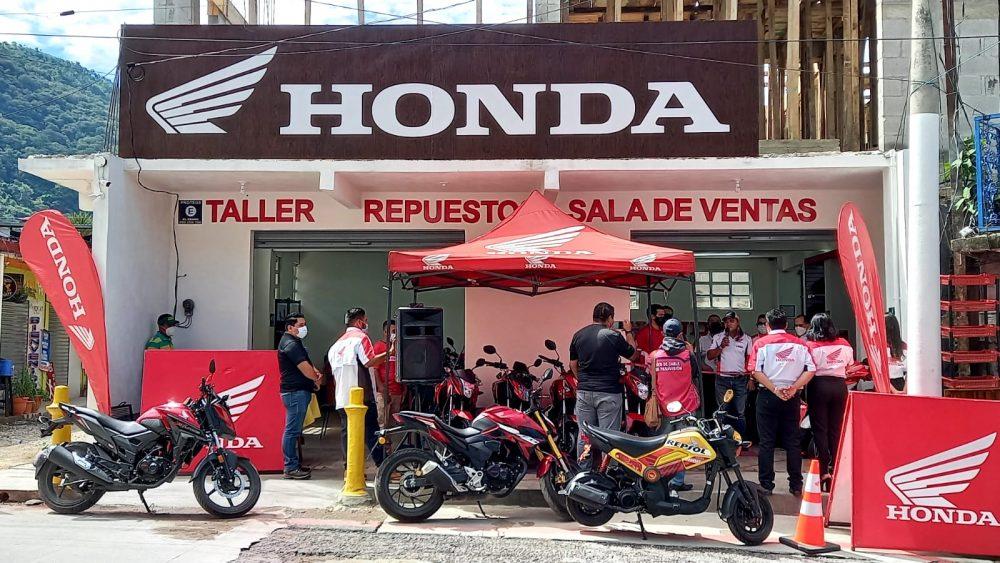 honda motos agencia panajachel