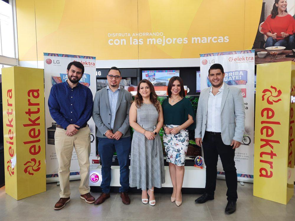 Tiendas Elektra Guatemala y LG Electronics