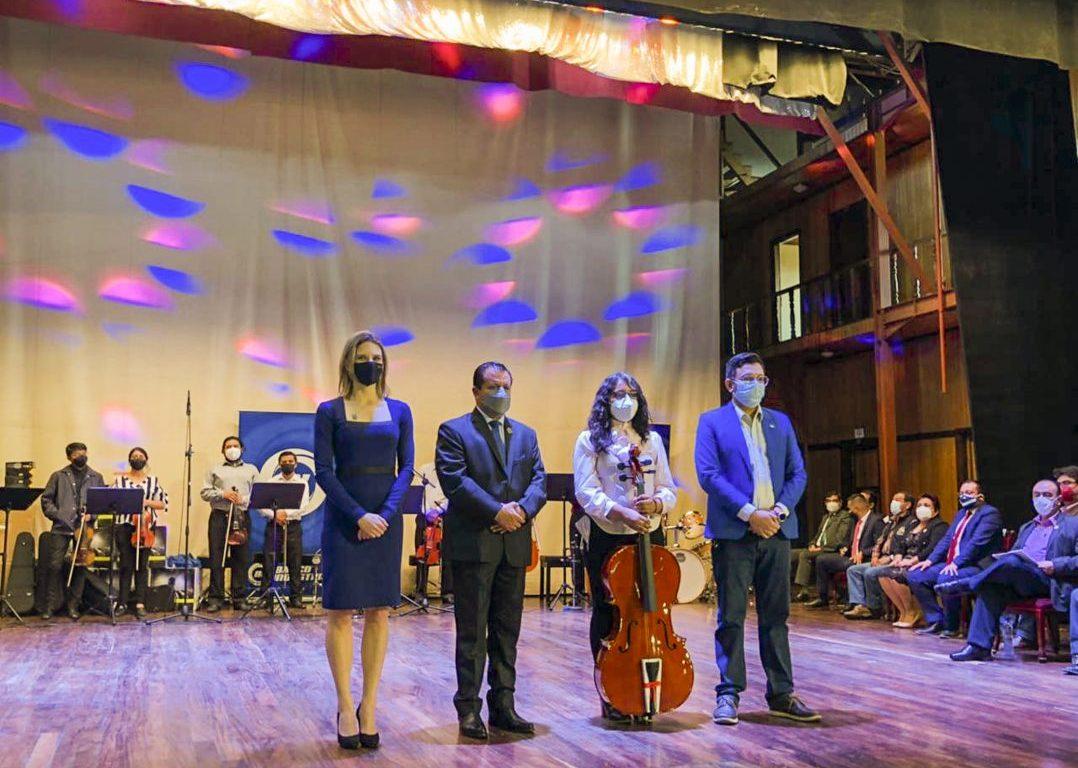Banco industrial Orquesta Sinfónica Municipal de Quetzaltenango