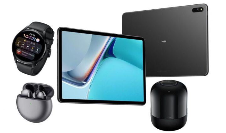 Lanzamiento multiproductos Huawei