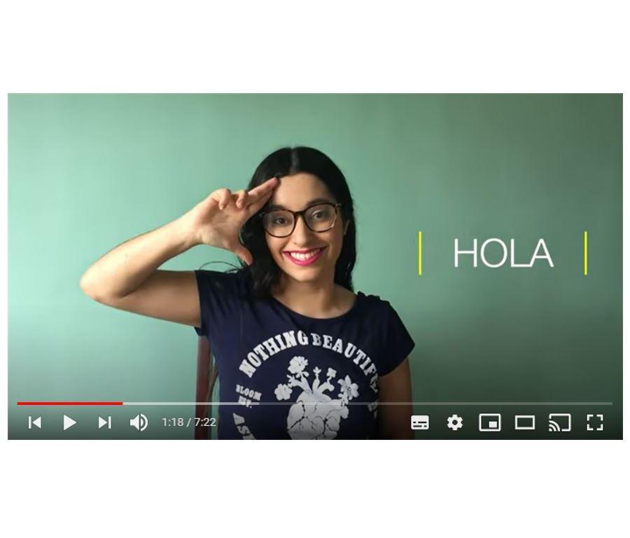 lenguaje de senas youtube