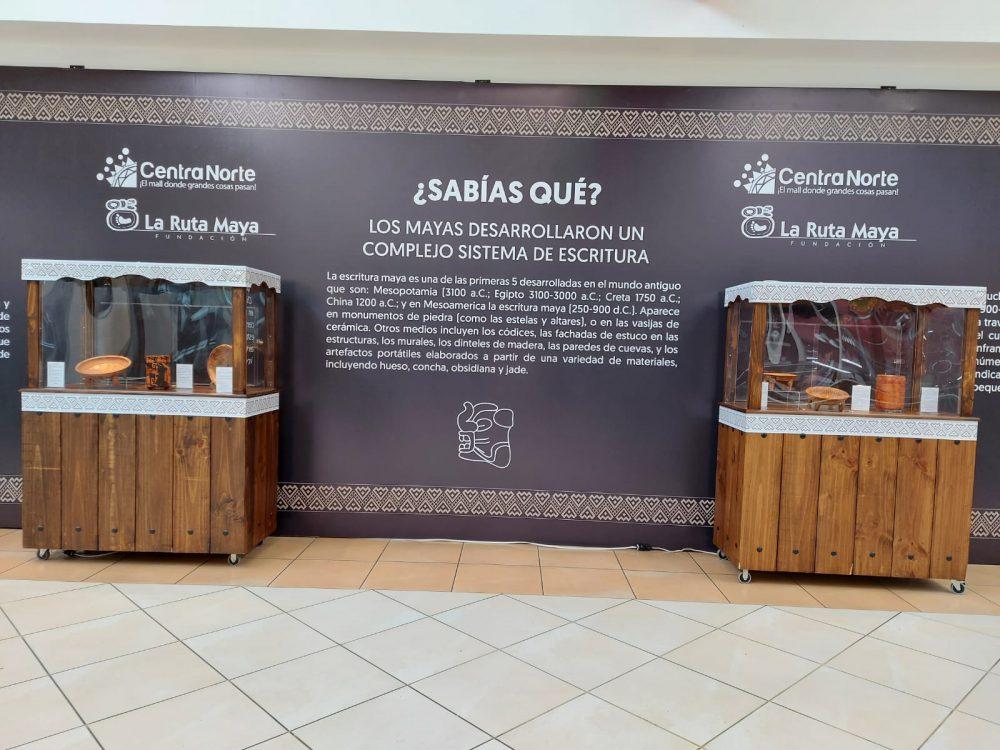 La Fundación La Ruta Maya exposición Viaje al Mundo Maya