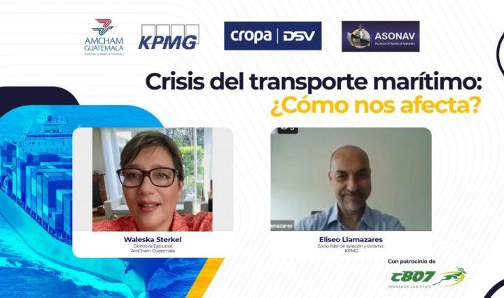 AMCHAM GUATEMALA- Crisis de contenedores marítimos