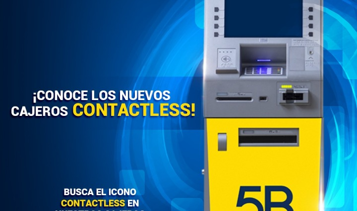 Cajeros Contactless 5B