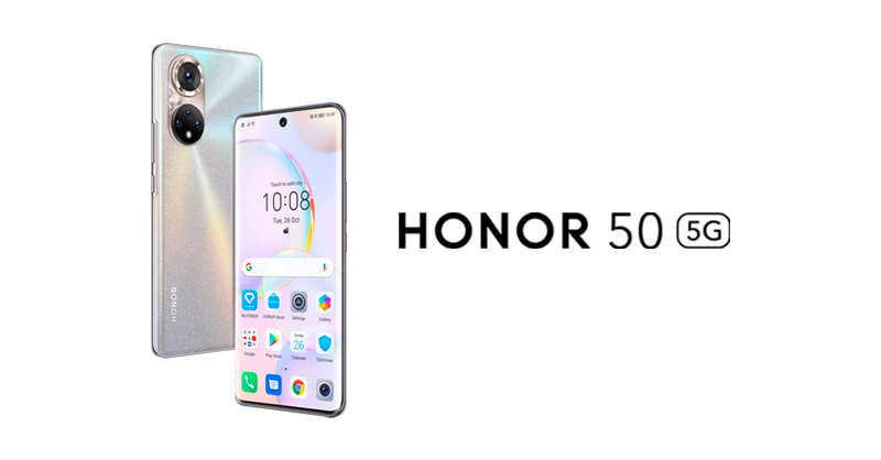 HONOR 50 with GMS