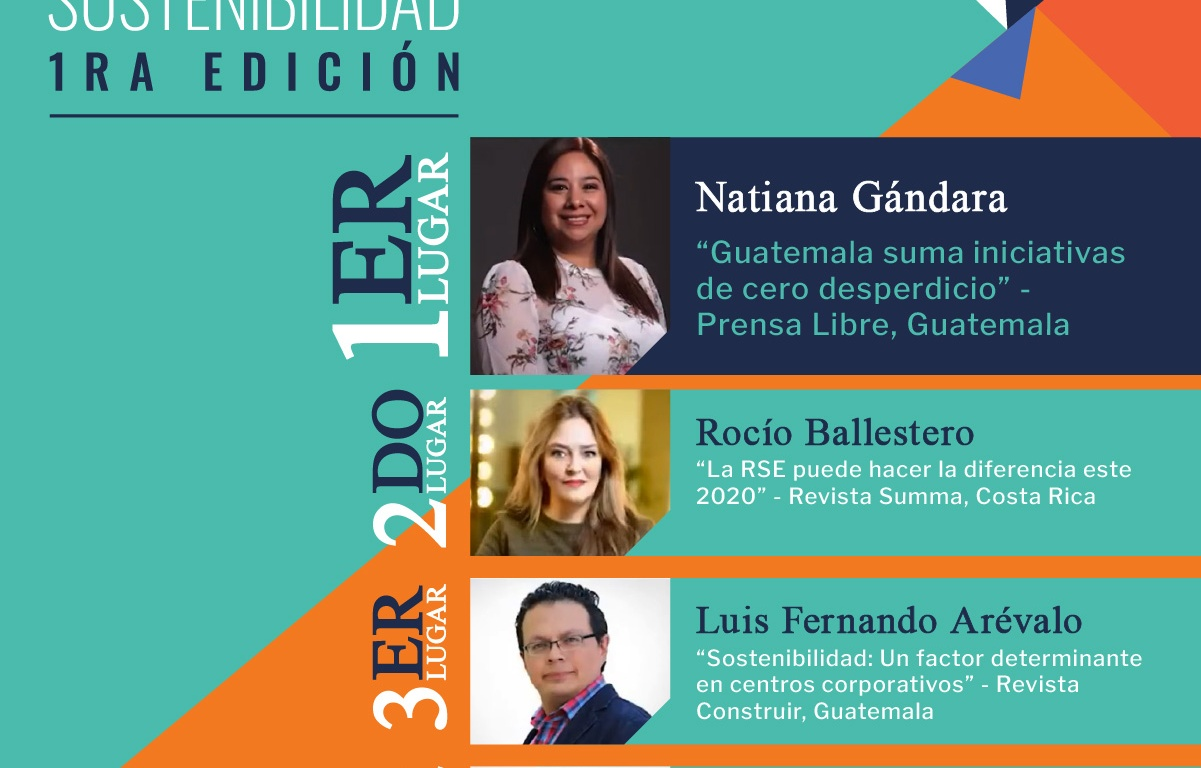 Premio Regional de Periodismo en Sostenibilidad progreso